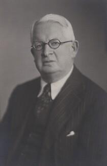 Sir Alan Henderson Gardiner, by Walter Stoneman - NPG x167747