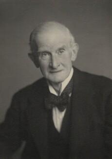 Sir Douglas Thornbury Garrett, by Walter Stoneman - NPG x167754