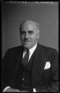 Sir (Leonard) David Gammans, 1st Bt, by Walter Stoneman - NPG x169684