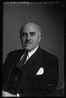 Sir (Leonard) David Gammans, 1st Bt, by Walter Stoneman - NPG x169685