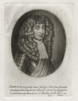 Prince Rupert, Count Palatine, by Abraham Blooteling (Bloteling), published by  John Lloyd - NPG D42382