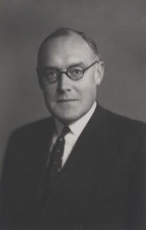 Ross Campbell Geddes, 2nd Baron Geddes, by Walter Stoneman - NPG x167773