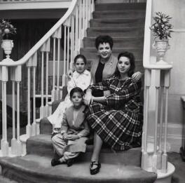 Judy Garland; Liza Minnelli; Lorna Luft and Joey Luft, by Bob Collins - NPG x136363