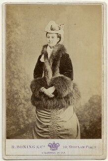 Edith (née Harcourt), Countess of Winchilsea and Nottingham, by Robert Boning & Co - NPG x136370