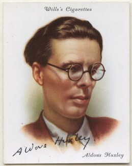 Aldous Huxley, after Howard Coster - NPG D42402