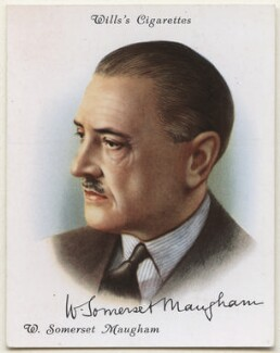 Somerset Maugham, after Unknown artist - NPG D42408