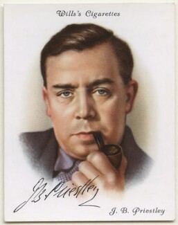 J.B. Priestley, after Unknown artist - NPG D42413