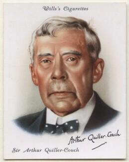 Sir Arthur Thomas Quiller-Couch, after Walter Benington - NPG D42414