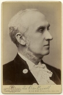 Charles Arthur Russell, Baron Russell of Killowen, by Alexander Bassano - NPG x136377