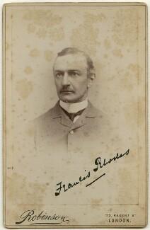 Francis William Rhodes, by James Robinson - NPG x136381