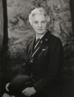 Dame Anstice Rosa Gibbs, by Walter Bird - NPG x167788