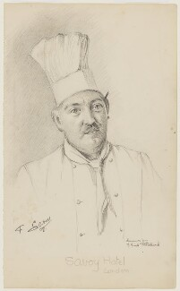 François Latry, by Florence Enid Stoddard, circa 1937 - NPG D42428 - © reserved; collection National Portrait Gallery, London
