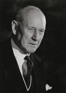 Sir (Sydney) Harold Gillett, 1st Bt, by Walter Bird - NPG x167806