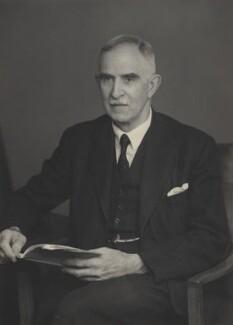 Sir (William) Alan Gillett, by Walter Stoneman - NPG x167807