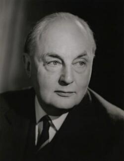 (Hubert Miles) Gladwyn Jebb, 1st Baron Gladwyn, by Walter Bird - NPG x167815
