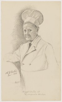 A.G. Carter, by Florence Enid Stoddard - NPG D42433