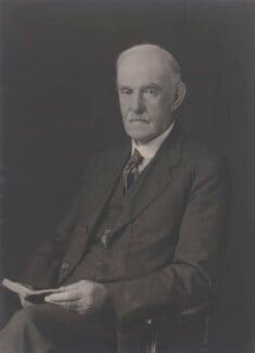 Sir Richard Tetley Glazebrook, by Walter Stoneman - NPG x167820