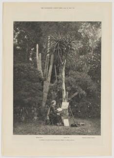 Marianne North, by T. Bailey, after  Aldham & Aldham - NPG D42434