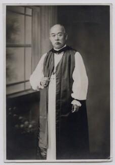 Joseph Sakunoshin Motoda, by Unknown photographer, circa 1920s - NPG x159318 - © National Portrait Gallery, London