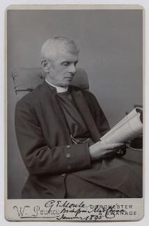 George Evans Moule, by Walter Pouncy - NPG x159319