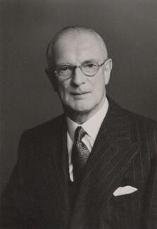 Sir (Joseph) Holland Goddard, by Walter Stoneman - NPG x167844