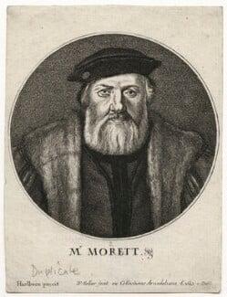 Charles de Solier, Sieur de Morette, by Wenceslaus Hollar, after  Hans Holbein the Younger - NPG D42440