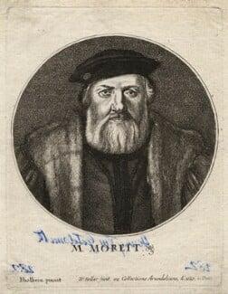 Charles de Solier, Sieur de Morette, by Wenceslaus Hollar, after  Hans Holbein the Younger - NPG D42442
