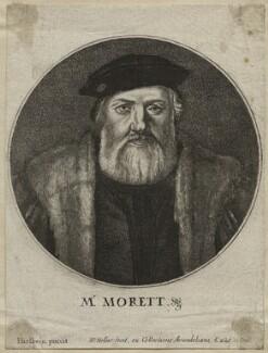 Charles de Solier, Sieur de Morette, by Wenceslaus Hollar, after  Hans Holbein the Younger - NPG D42443