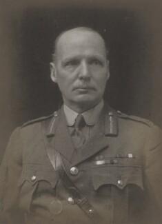 Reginald St George Gorton, by Walter Stoneman - NPG x167890
