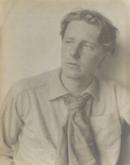 Rupert Brooke, by Sherrill Schell, April 1913 - NPG P1698 - © reserved; collection National Portrait Gallery, London