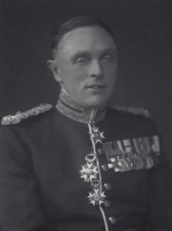 Sir Charles John Cecil Grant, by Walter Stoneman - NPG x167921