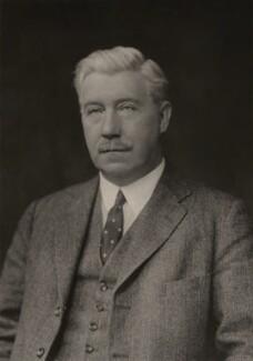 Sir (Alfred) Hamilton Grant, 12th Bt, by Walter Stoneman - NPG x167923