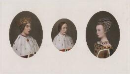 James III of Scotland; James IV of Scotland; Margaret of Denmark, after Hugo van der Goes, published 1902 (1478-1480) - NPG D42378 - © National Portrait Gallery, London