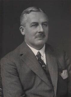 Sir Robert Hyde Greg, by Walter Stoneman - NPG x167960
