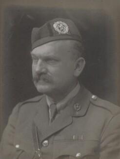Sir James William Greig, by Walter Stoneman - NPG x167967