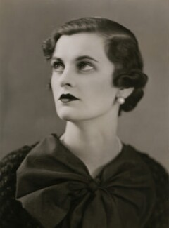 (Ethel) Margaret Campbell (née Whigham), Duchess of Argyll, by Hay Wrightson, 1930s - NPG x136432 - © National Portrait Gallery, London