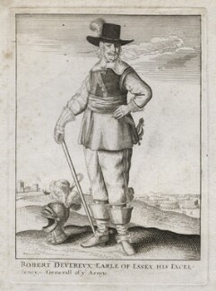 Robert Devereux, 3rd Earl of Essex, by Wenceslaus Hollar - NPG D42445