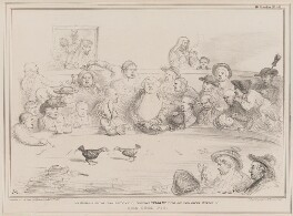 The Cock Pit, by John ('HB') Doyle, printed by  Alfred Ducôte, published by  Thomas McLean - NPG D41403
