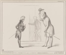 March of Reform - Master of Ceremonies in the House of Commons, by John ('HB') Doyle, printed by  Alfred Ducôte, published by  Thomas McLean, published 16 March 1837 - NPG D41405 - © National Portrait Gallery, London