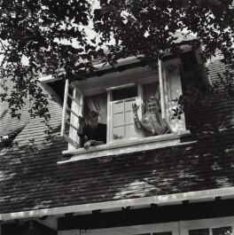 Shirley Eaton; Colin Lenton-Rowe, by Bob Collins - NPG x136447