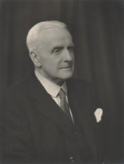 Arnold Babb Gridley, 1st Baron Gridley, by Walter Stoneman - NPG x167977