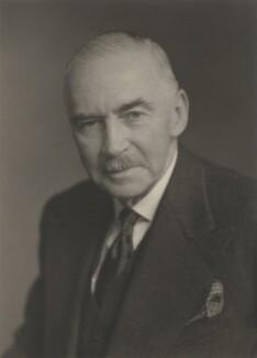 Sir (Wilfrid) Russell Grimwade, by Walter Stoneman - NPG x167990