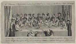 The Primitive Reformers, by Unknown artist, published 1769 - NPG D42454 - © National Portrait Gallery, London