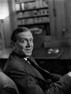 Graham Greene, by Lida Moser - NPG x136457