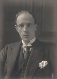 Edward Frederick Lindley Wood, 1st Earl of Halifax, by Walter Stoneman - NPG x168049