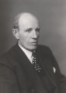 Edward Frederick Lindley Wood, 1st Earl of Halifax, by Walter Stoneman - NPG x168050