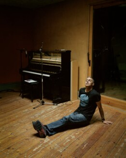 Nitin Sawhney, by Joss McKinley - NPG x136460