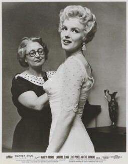 Beatrice Dawson; Marilyn Monroe, by Unknown photographer, 1956 - NPG x136480 - © reserved; collection National Portrait Gallery, London