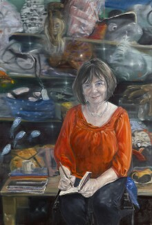 Julia Catherine Donaldson, by Peter Monkman, 2013 - NPG  - © National Portrait Gallery, London