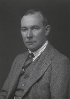 Hardinge Goulburn Giffard, 2nd Earl of Halsbury, by Walter Stoneman - NPG x168075